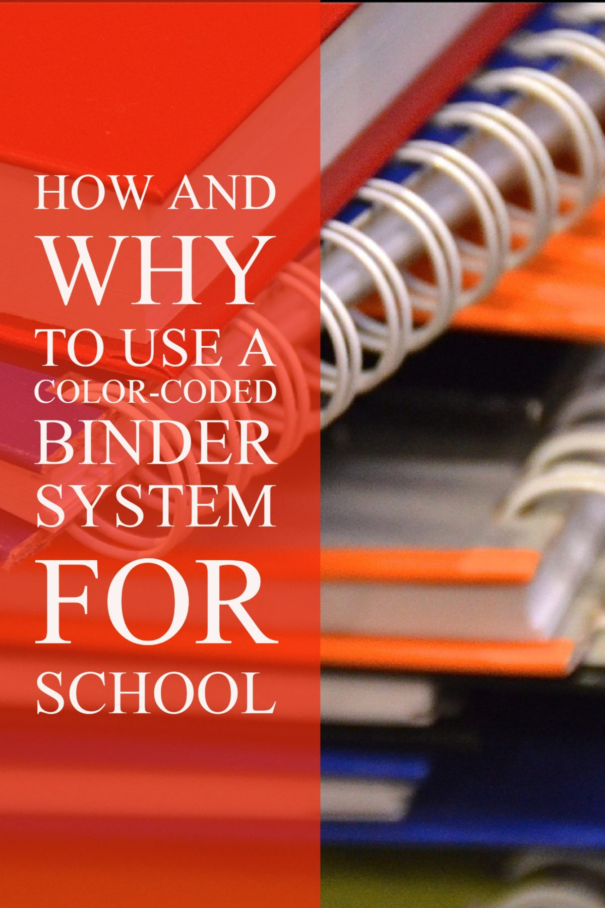 how to use a binder